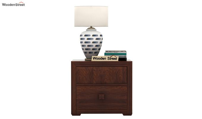 Morse Bedside Table (Walnut Finish)-3