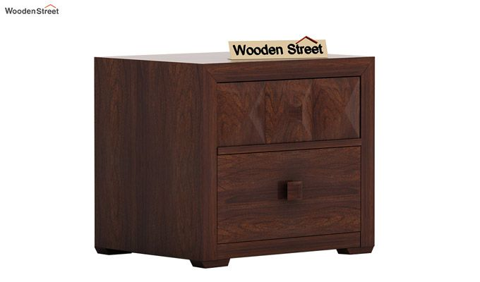 Morse Bedside Table (Walnut Finish)-4