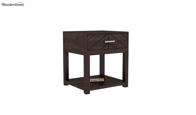 Neeson Bedside Table (Walnut Finish)-2