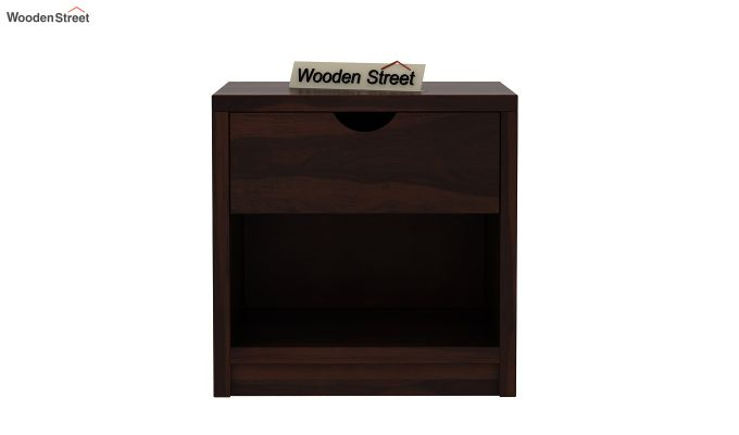 Oretta Bedside Table (Walnut Finish)-3