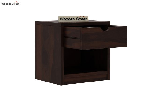 Oretta Bedside Table (Walnut Finish)-4
