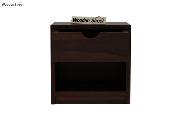 Oretta Bedside Table (Walnut Finish)-5