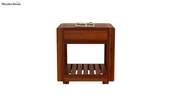 Oswald Bedside Table (Honey Finish)-3