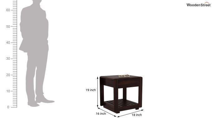 Oswald Bedside Table (Walnut Finish)-5