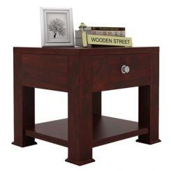 Pamero Bedside Table (Mahogany Finish)