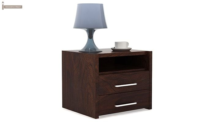 Parish Bed Side Table (Walnut Finish)-1