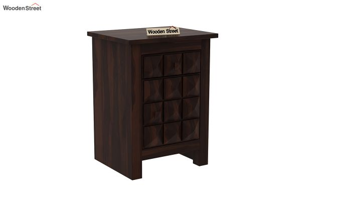 Sophia Bedside Table (Walnut Finish)-2