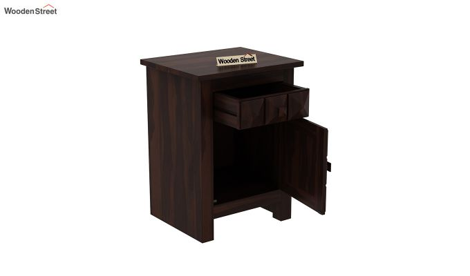 Sophia Bedside Table (Walnut Finish)-4
