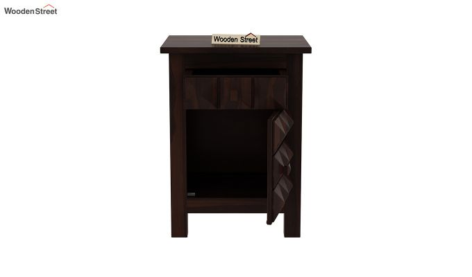 Sophia Bedside Table (Walnut Finish)-5