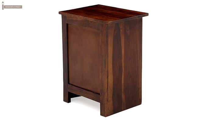 Sophia Bedside Table (Teak Finish)-12