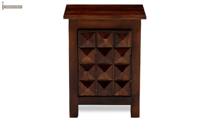 Sophia Bedside Table (Teak Finish)-6
