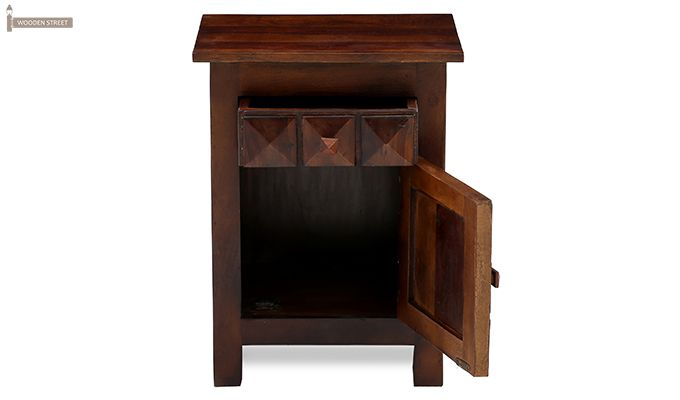 Sophia Bedside Table (Teak Finish)-8