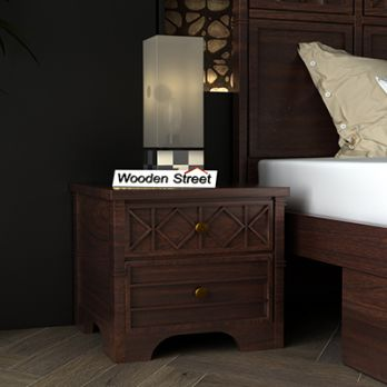 wooden side table online India