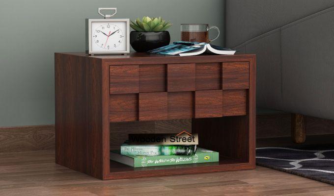 Travis Bedside Table (Walnut Finish)-1