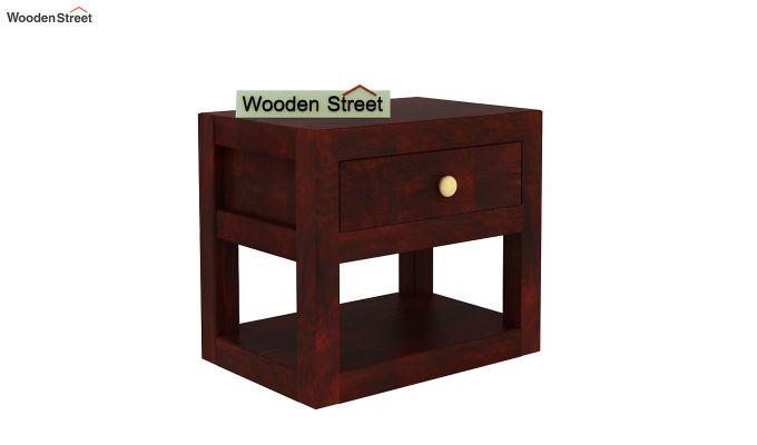 Walken Bedside Table (Mahogany Finish)-4