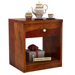 Welker Bedside Table (Honey Finish)