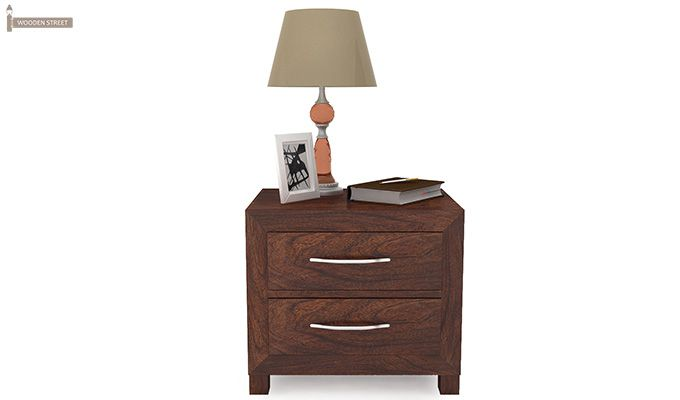 Weston Bedside Table (Walnut Finish)-3