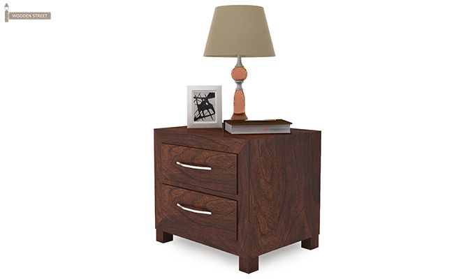 Weston Bedside Table (Walnut Finish)-4