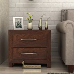 Weston Bedside Table (Walnut Finish)