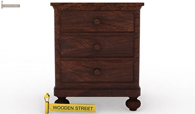 Willock Bedside Table (Walnut Finish)-3