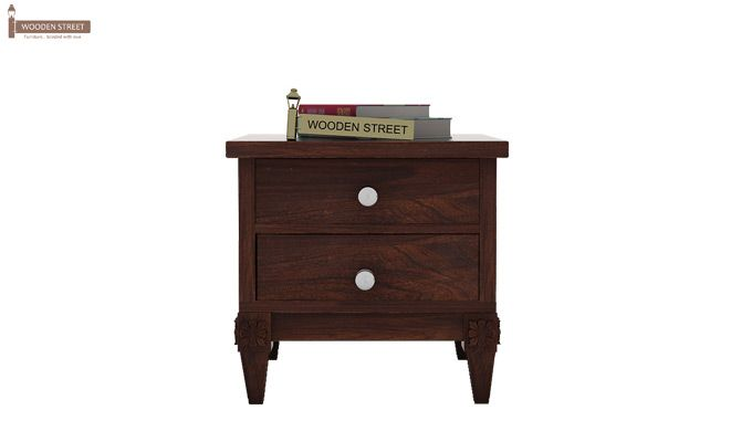 Wopper Bedside Table (Walnut Finish)-2