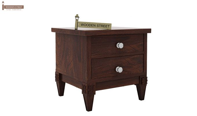 Wopper Bedside Table (Walnut Finish)-3