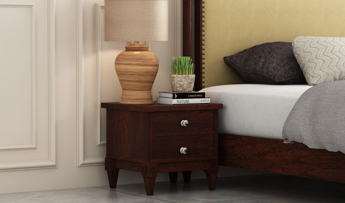 Wopper Bedside Table (Walnut Finish)-1