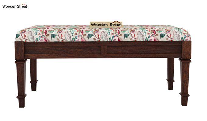 Ativan Bench (Walnut Finish, Rosy Leaf)-3