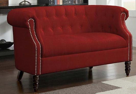 Canzona Chesterfield Bench With Back Rest