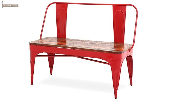 Chanin Iron Bench (Red)-3