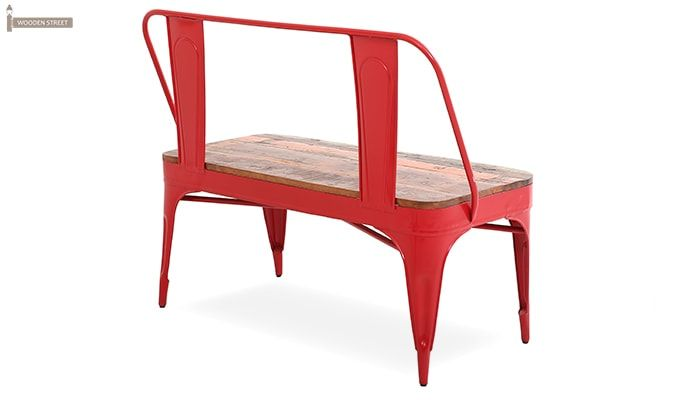 Chanin Iron Bench (Red)-4