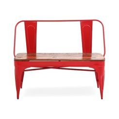 Chanin Iron Bench (Red)