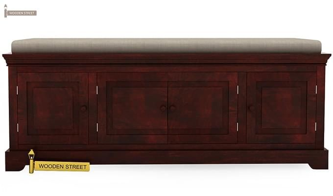Charles Bench (Mahogany Finish)-1