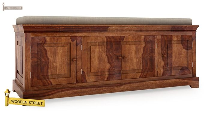 Charles Bench (Teak Finish)-2