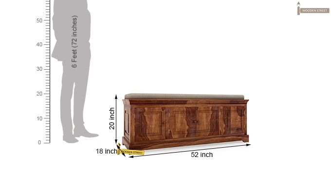 Charles Bench (Teak Finish)-3
