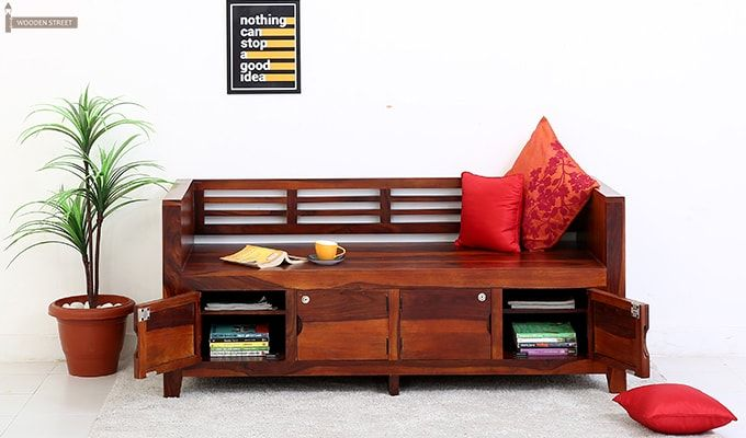 Christie Bench (Honey Finish)-2