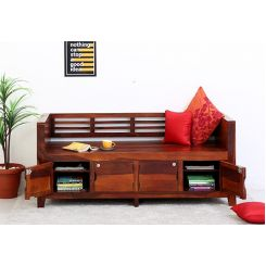 Christie Bench (Honey Finish)