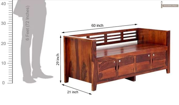 Christie Bench (Honey Finish)-10