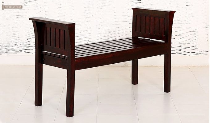 Delano Bench (Mahogany Finish)-2