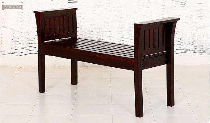 Delano Bench (Mahogany Finish)-4