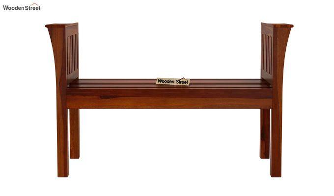 Delano Bench without Upholstery (Honey Finish)-4