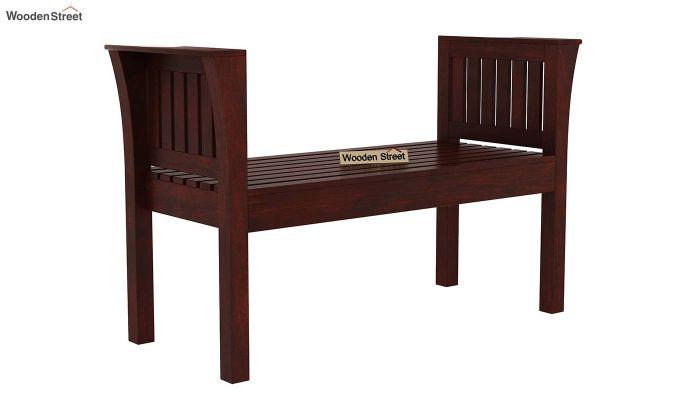 Delano Bench without Upholstery (Mahogany Finish)-1