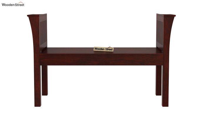 Delano Bench without Upholstery (Mahogany Finish)-2