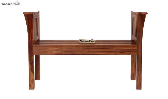 Delano Bench without Upholstery (Teak Finish)-4