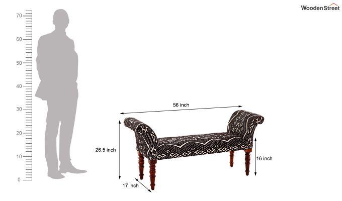 Demetra Upholstered Settee-5