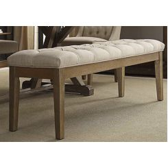 Gracie Bench (Teak Finish)