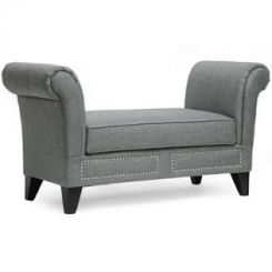 Kellen Bench (Light Grey)