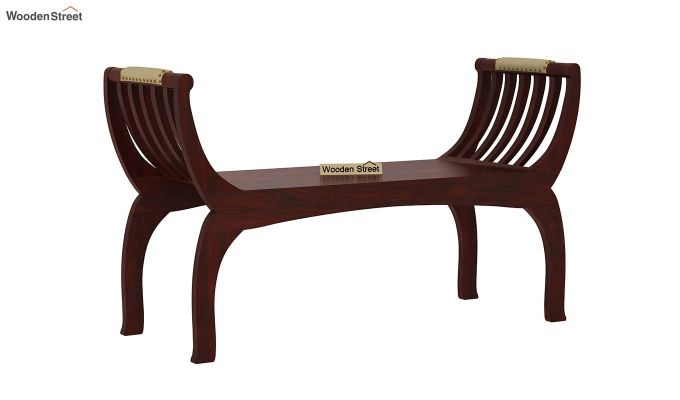 Marine Bench without Upholstery (Mahogany Finish)-1