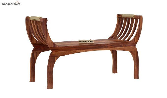 Marine Bench without Upholstery (Teak Finish)-3