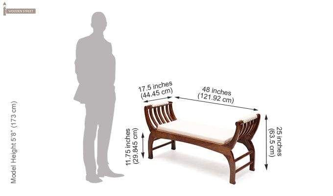 Marine Bench (Teak Finish)-9